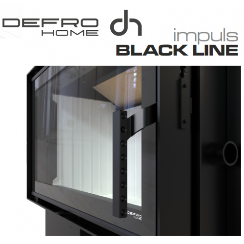 Defro Home Szyba Black Line do IMPULS SM