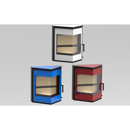 KFD Delta - kolor szkła zamiast czarnego - biały, niebieski, czerwony