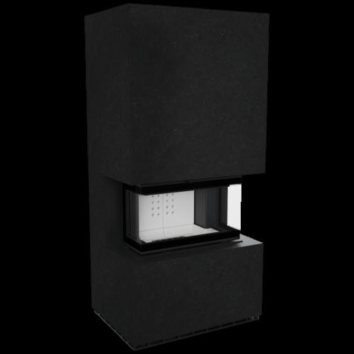 NBC 7 z zabudową HOME EASY BOX kamień Indian Black - Kratki