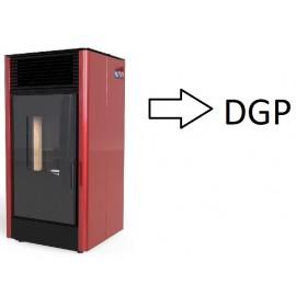 Ogrzewające jedno lub kilka pomieszczeń (z DGP)