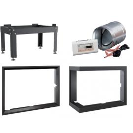 Akcesoria i wyposażenie opcjonalne do wkładów kominkowych i piecy
